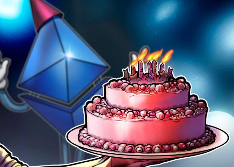 ¡Feliz sexto cumpleaños, Ethereum!